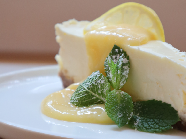 Cheesecake au citron • Lemon Cheesecake